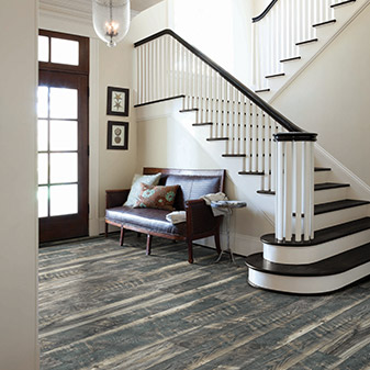 Entry way remodeling available at American Carpet & Flooring in Torrance