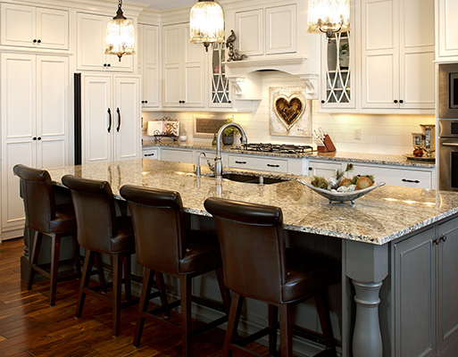 At American Carpet & Flooring we can help you with your kitchen remodel and bath remodel from the very beginning.