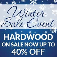Hardwood On Sale Up to 40% Off Select Styles -come by today at American Carpet & Flooring!