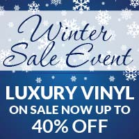 Vinyl On Sale Up to 40% Off Select Styles-come by American Carpet & Flooring today!
