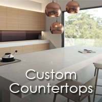 Custom countertops available at American Carpet & Flooring in Torrance