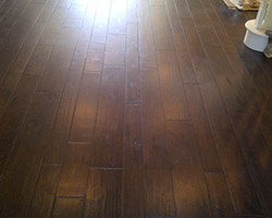 Completed Oak Hardwood Flooring project by American Carpet & Flooring
